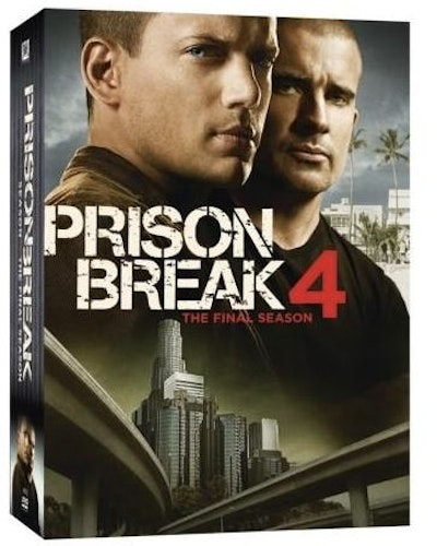 Prison Break Säsong 4 DVD