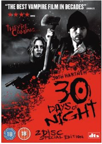 30 Days Of Night DVD (import med svensk text)