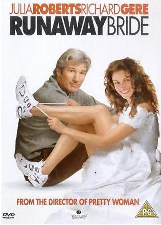 Runaway Bride DVD (import med svensk text)