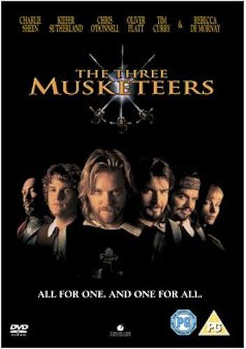 De tre musketörerna DVD (import)