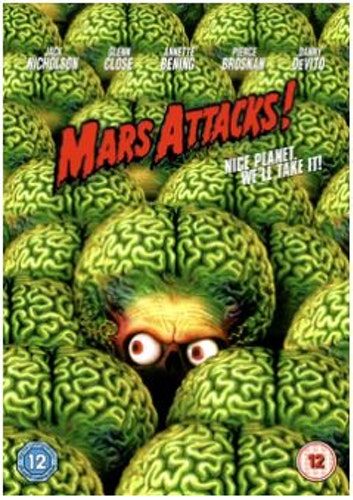 Mars Attacks! DVD (import)