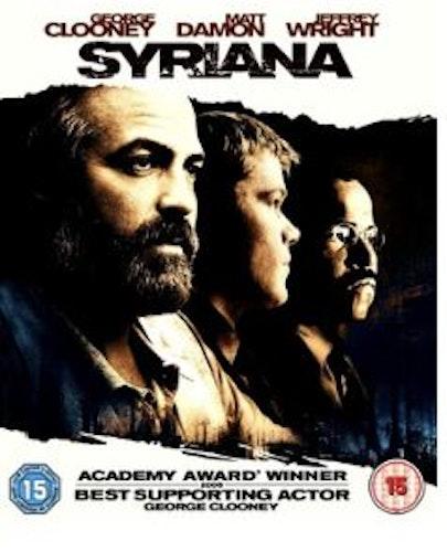 Syriana bluray (import utan svensk text)