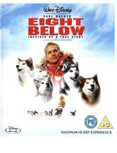 Eight Below bluray (import med svensk text)