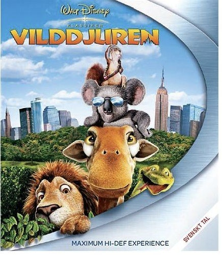Disneyklassiker 46 - Vilddjuren bluray