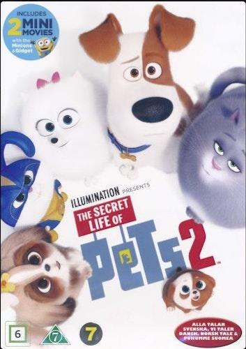 Husdjurens hemliga liv 2 DVD