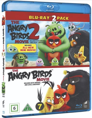 ANGRY BIRDS MOVIE 1+2 BOX (bluray)