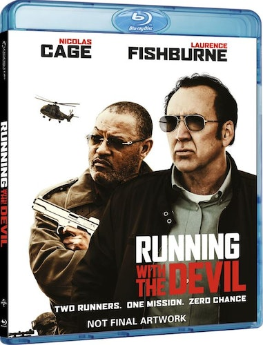 RUNNING WITH THE DEVIL (bluray)