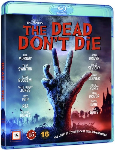 THE DEAD DONT DIE (bluray)
