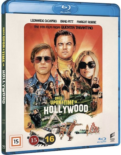 Once upon a time in Hollywood (bluray)