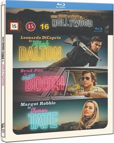 ONCE UPON A TIME IN HOLLYWOOD Steelbook (bluray)