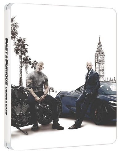 FAST & FURIOUS PRESENTS: HOBBS & SHAW Steelbook bluray