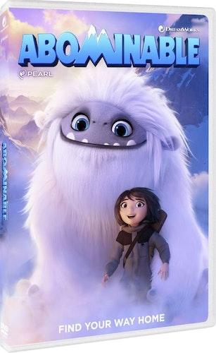 Förfärliga snömannen (DVD)