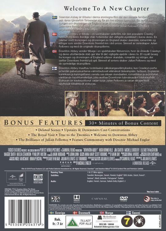Downton Abbey (2019) DVD