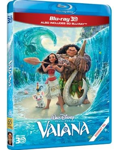 Disneyklassiker 55 Vaiana 2D+3D bluray