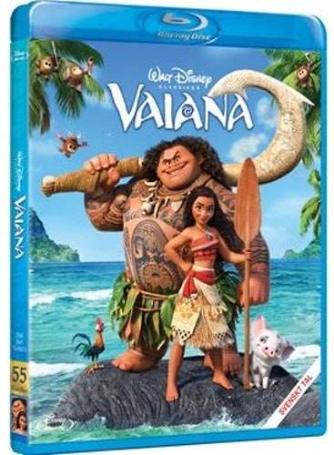 Disneyklassiker 55 Vaiana bluray