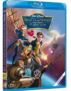 Disneyklassiker 42 Skattkammarplaneten bluray