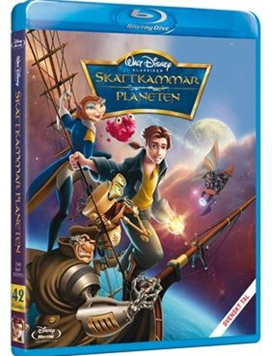 Disneyklassiker 42 Skattkammarplaneten bluray