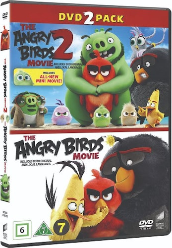 ANGRY BIRDS MOVIE 1+2 BOX DVD