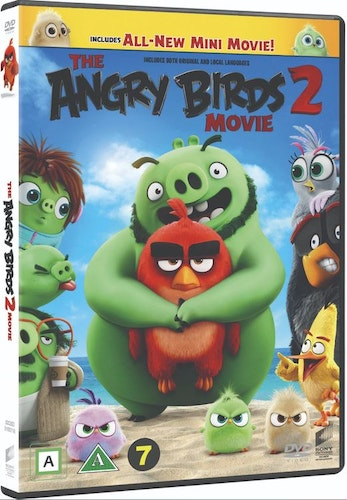 ANGRY BIRDS MOVIE 2 DVD