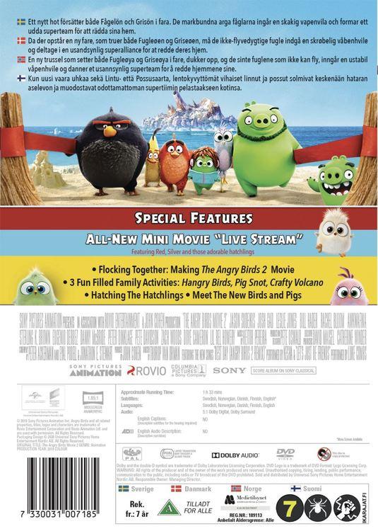 Angry Birds movie 2 DVD