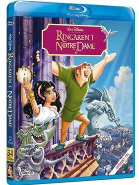 Disneyklassiker 34 Ringaren i Notre Dame bluray