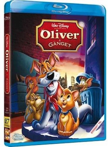 Disneyklassiker 27 Oliver och gänget bluray