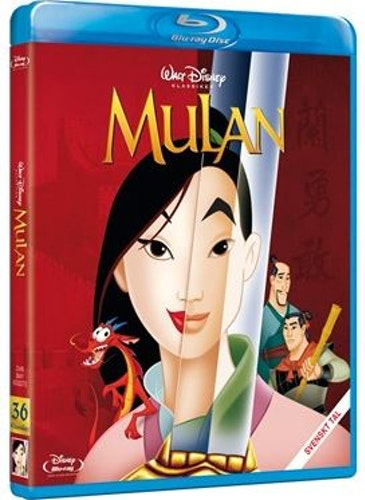 Disneyklassiker 36 Mulan bluray