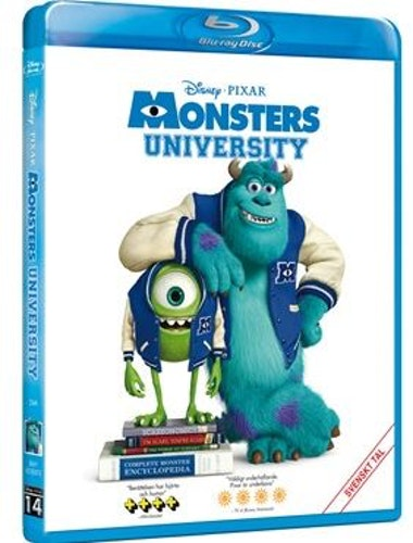 Disney Pixar klassiker 14 Monsters University bluray