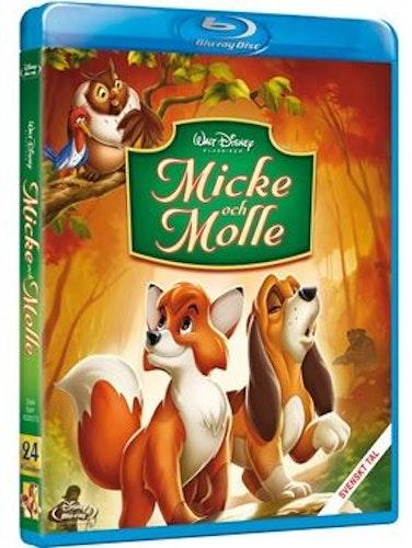 Disneyklassiker 24 Micke och Molle bluray