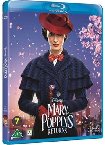 Disneys Mary Poppins returns bluray