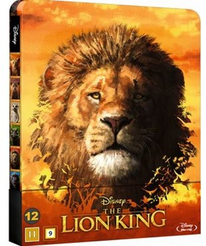 The Lion King  bluray steelbook 2019