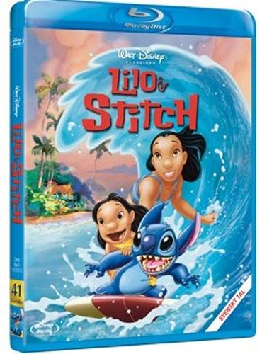 Disneyklassiker 41 Lilo och Stitch bluray