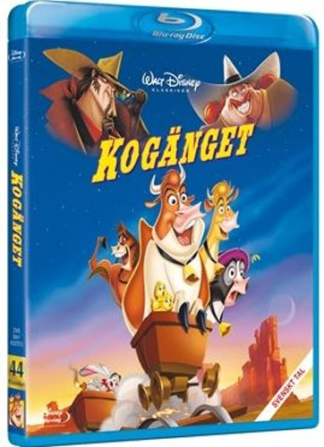 Disneyklassiker 44 Kogänget bluray