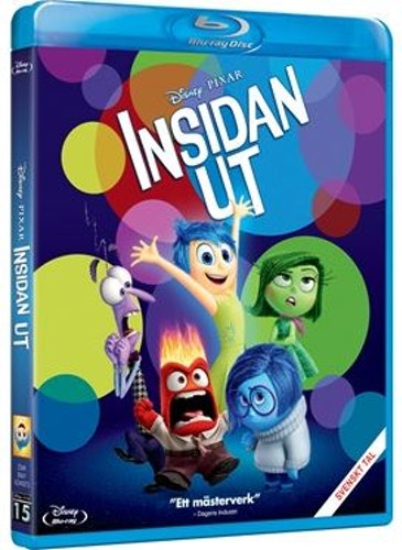 Disney Pixar klassiker 15 Insidan ut bluray