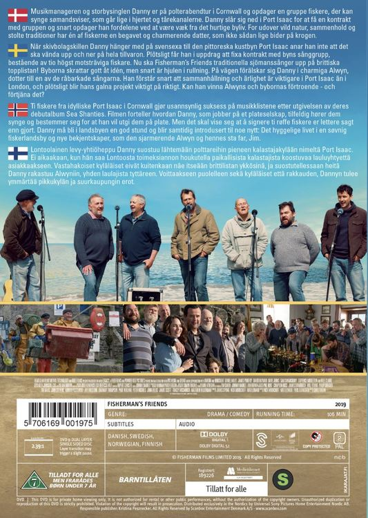 FISHERMANS FRIENDS DVD