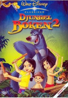 Disneys Djungelboken 2 bluray