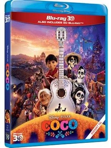 Disney Pixar klassiker 19 Coco 3D+2D bluray