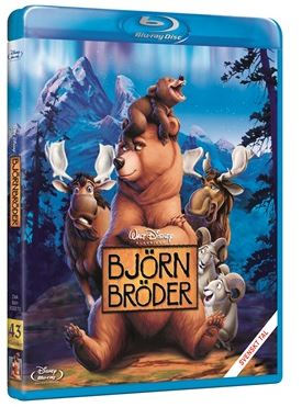 Disneyklassiker 43 Björnbröder bluray