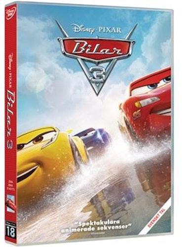 Disney Pixar klassiker 18 Bilar 3 bluray