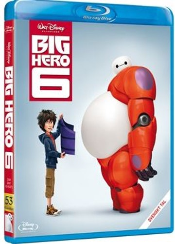 Disneyklassiker 53 Big hero 6 bluray