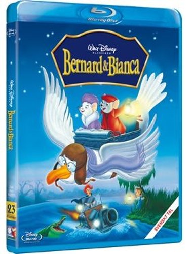 Disneyklassiker 23 Bernard och Bianca bluray