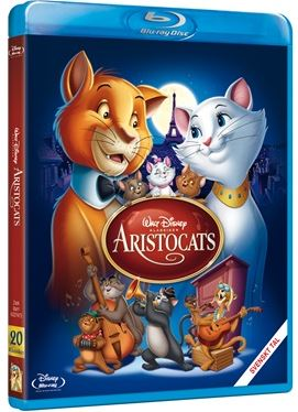 Disneyklassiker 20 Aristocats bluray