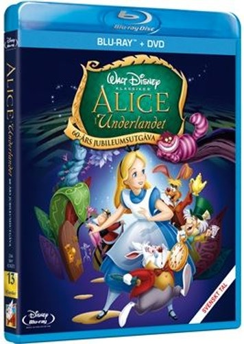 Disneyklassiker 13 Alice i Underlandet bluray
