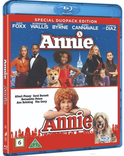 ANNIE (1982)/ANNIE (2014) BOX Bluray