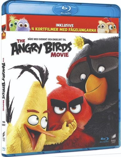 ANGRY BIRDS MOVIE (bluray)