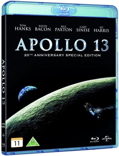 Apollo 13 20th anniversary (remastered) Bluray