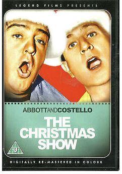 Abbott & Costello - Christmas Show DVD från 1952 (import)