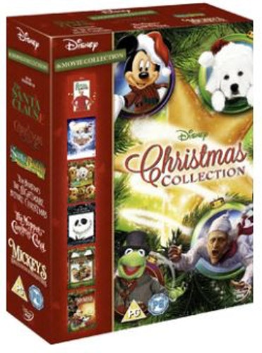 Disney Christmas Collection (6 Filmer) DVD (import)