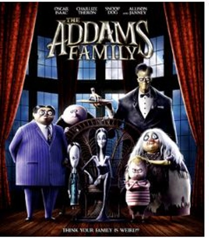 The Addams Family Blu-Ray 2019 (import)