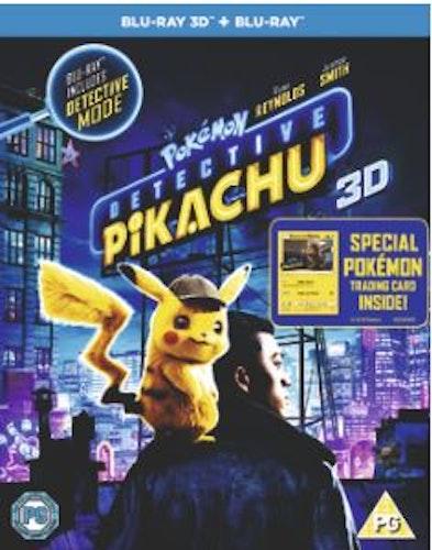 Detective Pikachu 3D Blu-Ray (import)